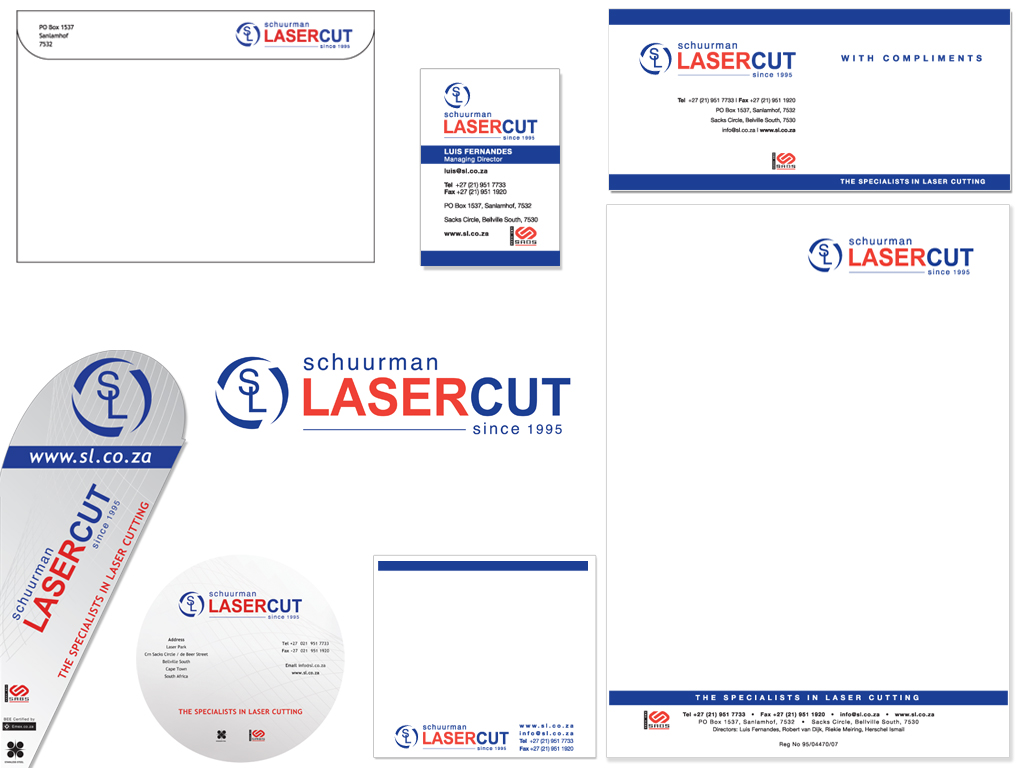 Schuurman Lasercut Corporate ID